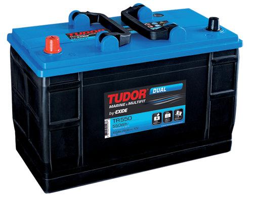 Tudor Marin Dual Batteri, 80Ah