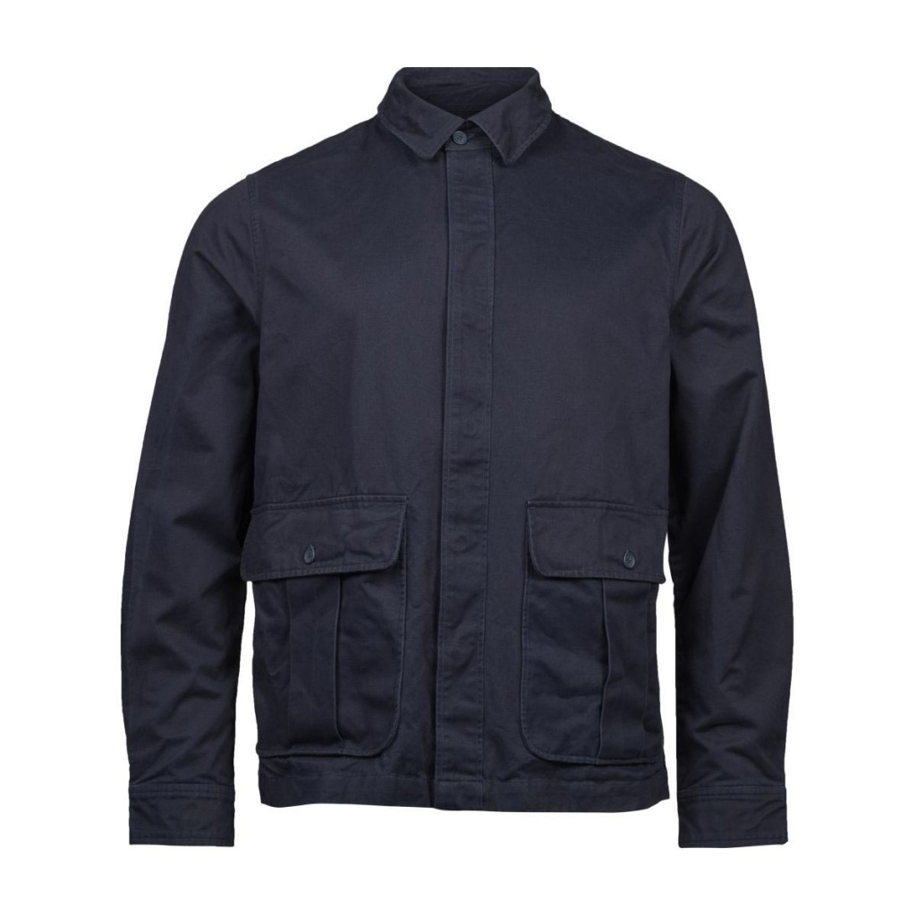 Twill Short Jacket - Total Eclipse