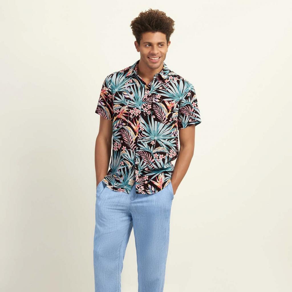 Crete Shirt - Tropical