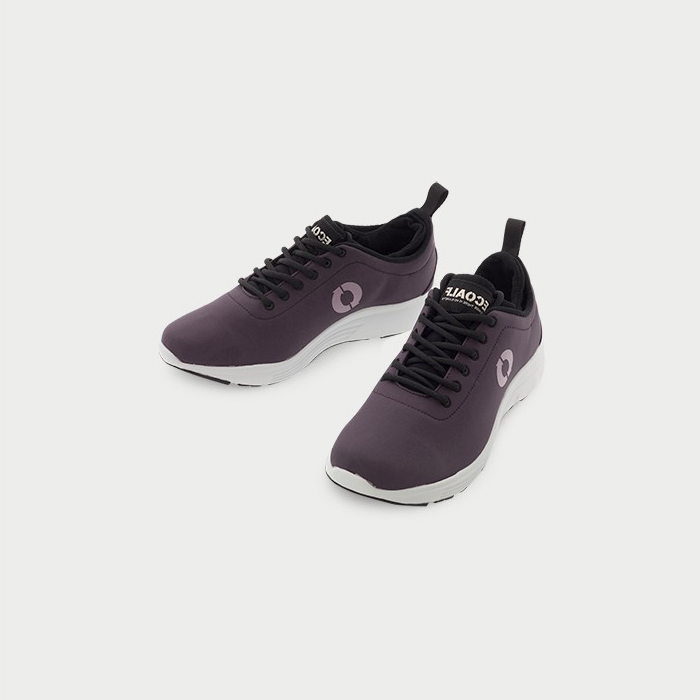 California Sneaker - Burgundy