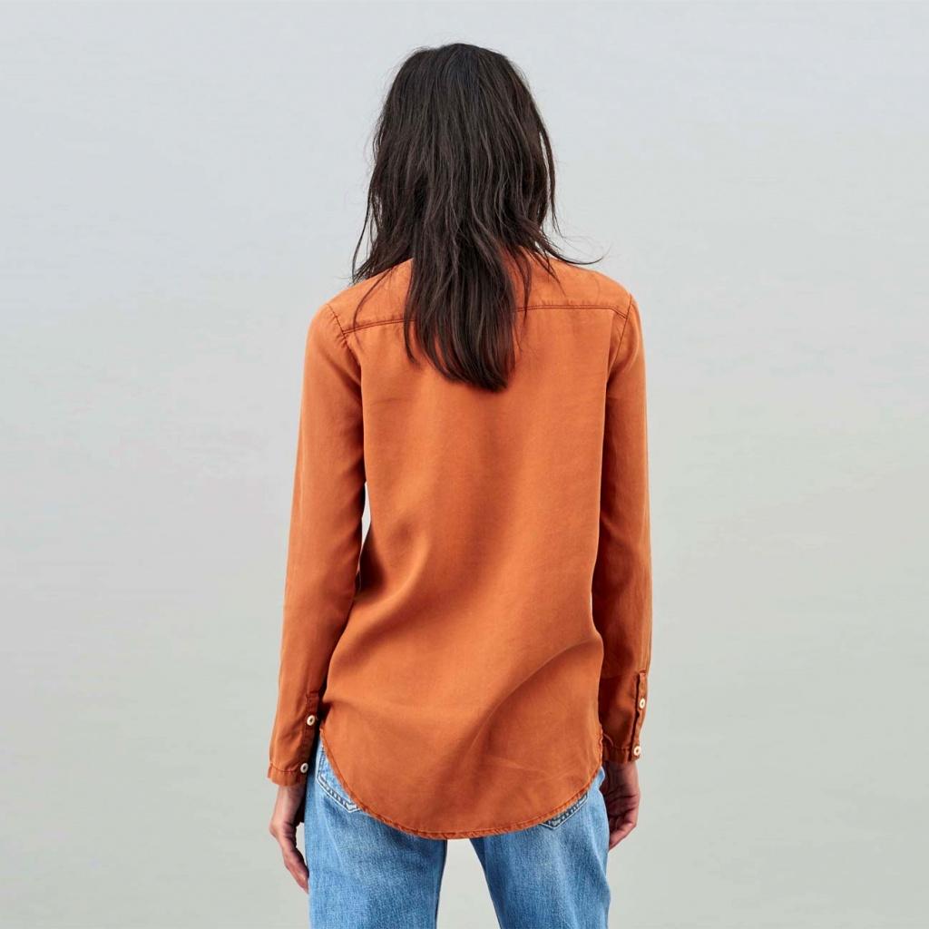 Taja No Collar - Rust