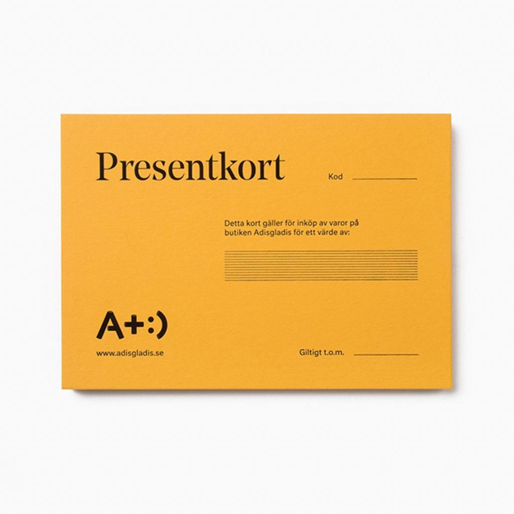 Presentkort - A+:)