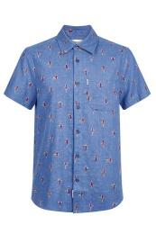 Crete Linen Shirt - Komodo
