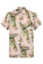 Crete Rayon Shirt - Komodo