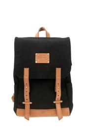 Mau´s Backpack Black Canvas - O My Bag