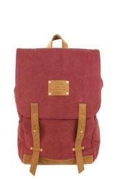 Mau´s Backpack Burgundy Camel - O My Bag