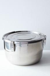 Airtight matlåda Rostfritt Stål 4L - Onyx