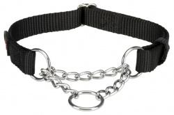 Premium Halvstryp, S-M: 30-40 cm/15 mm, svart