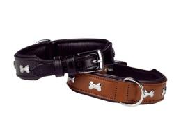 Halsband Buffel - Cerro - 30mm 50cm - Hals 42-48cm - Svart/Brun