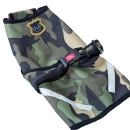 G&E Täcke Softshell Camouflage