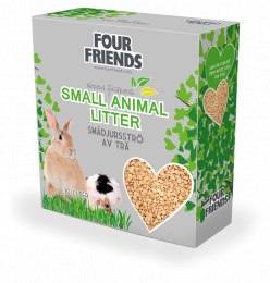 FourFriends Small Animal Liiter 40L