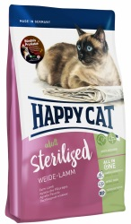HappyCat Adult sterilised, lamm, 10 Kg