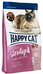 HappyCat Adult sterilised, oxkött