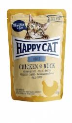 HappyCat våt, Adult, kyckling & anka 85g