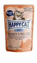HappyCat våt, Adult, kalkon & pollack 85g
