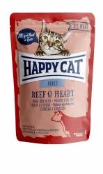 HappyCat våt, Adult, oxkött & hjärta 85g