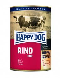 HappyDog konserv, 100% animalisk, oxkött 400 g