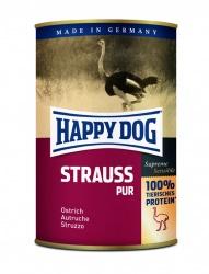 HappyDog konserv, GrainFree, 100% struts 400 g
