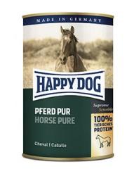 HappyDog konserv, GrainFree, 100% häst 400 g
