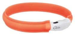 Flash light band USB orange 25 mm