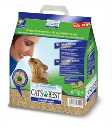Cat`s Best Green Power 8 L klumpbildande