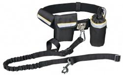 Handsfree-bälte med expander 60-120 cm, max 40 kg