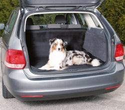 Bilskydd för bagageutrymme, 1,2x1,5 m, svart