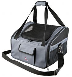 Transportväska till bil, 44 × 30 × 38 cm, grå/svart