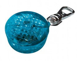 Flasher för hundar, blå 3,5 cm