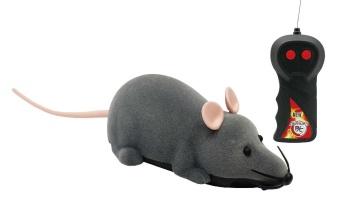 Springande råtta med fjärrkontroll