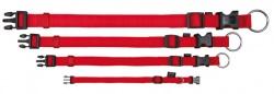 Classic halsband, S-M: 30-45 cm/15 mm, röd