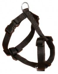 Classic H-sele, S-M: 40-65 cm/15 mm, svart