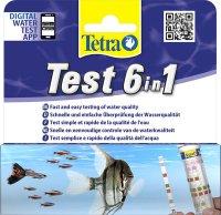 Tetra Testtest 6 in 1,  25 st