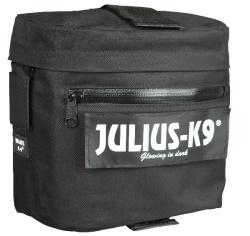 Julius-K9 Klövjeväska, svart, 2-pack, till #1506 powersele