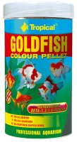 Goldfish colour pellets