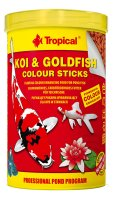 TROPICAL KOI & GOLDFISH Colour Sticks 1000ML/85G
