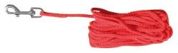 Spårlina, nylon, 10 m/ø 5 mm, röd