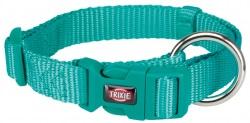 Premium halsband, S-M: 30-45 cm/15 mm, ocean