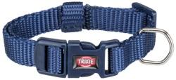 Premium halsband, XXS-XS: 15-25 cm/10 mm, indigo