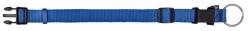 Premium halsband, S-M: 25-40 cm/15 mm, blå