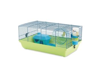 Hamsterbur Plast/Metall - Martha - 46,5x29,5x19cm - Mix