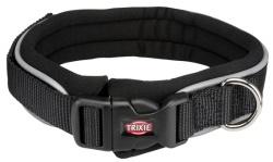Premium halsband, neopren svart