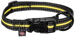 Fusion Sporting halsband, L-XL: 40-65 cm/25 mm, svart/gul