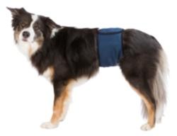 Hanhundsskydd,mörkblå