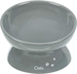 Matskål XXL, keramik, 0.35 l/ø 17 cm, grå