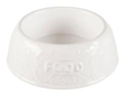 Keramikskål, 0.6 l/ ø 21 cm, vit