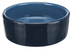 Keramikskål,0.8 l/ø 16 cm, mörkblå