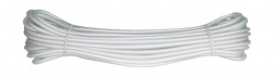 Spårlina PVC Transparent 6 mm 15 m