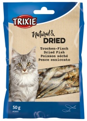 Torkad fisk för katt 50 g