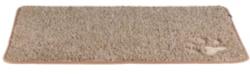 Smutsabsorberande matta, 70 × 50 cm, brun